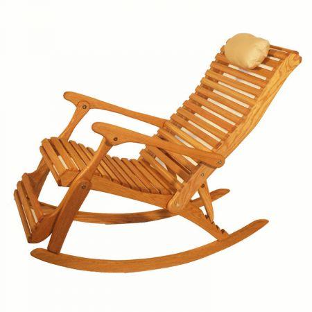 Phenomenal Sittin Easy White Oak Rockers White Oak Rocker Recliner Squirreltailoven Fun Painted Chair Ideas Images Squirreltailovenorg
